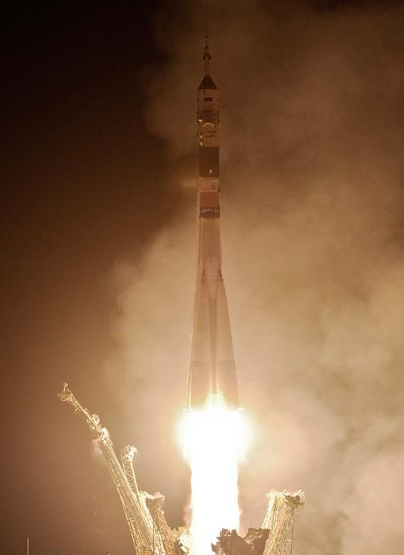 С космодрома Байконур успешно запущена 26-я экспедиция на МКС (+1 видео)